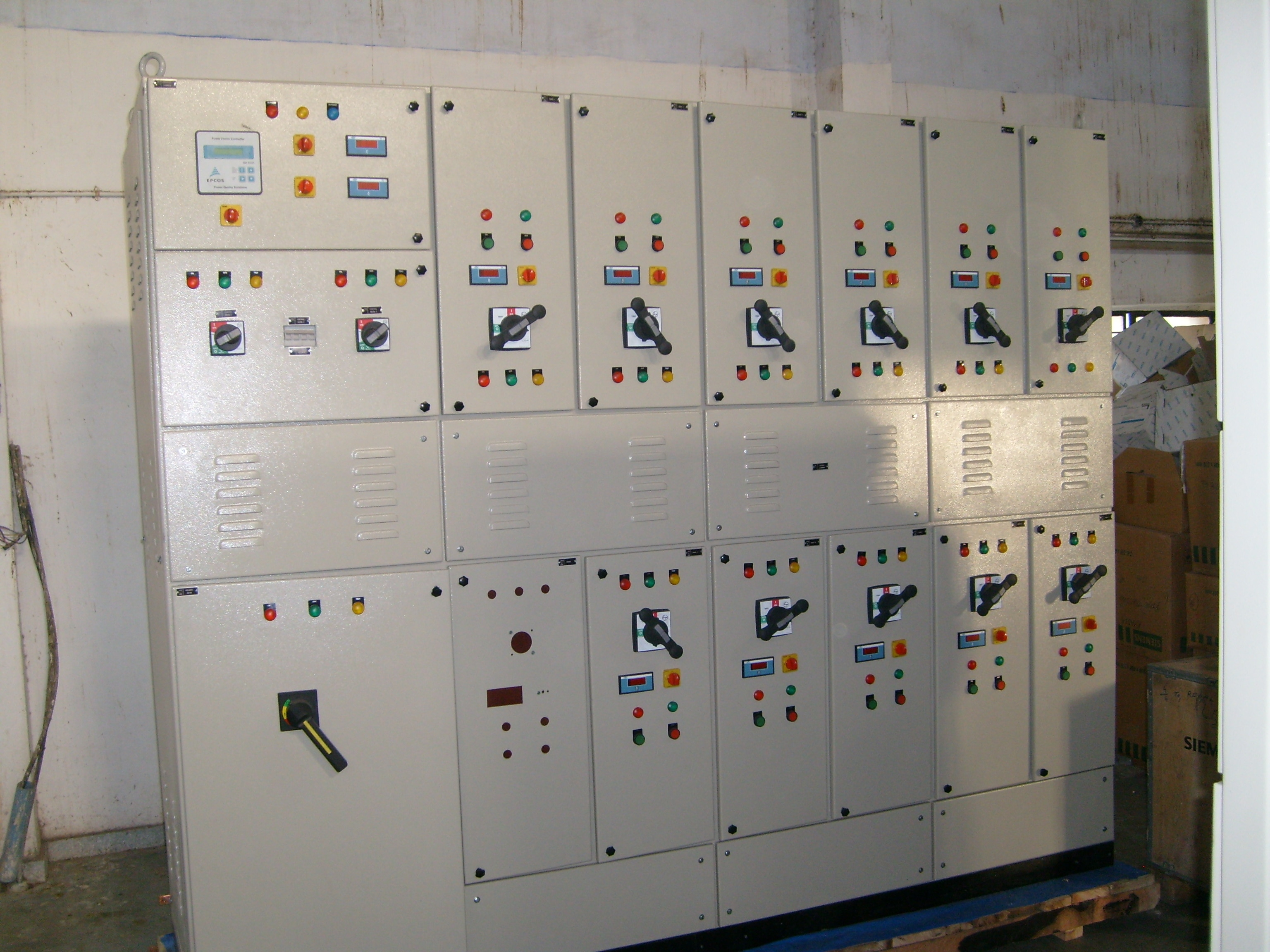 WE ARE INTO MANUFACTURING OF ALL KIND OF ELECTRICAL PANEL INCLUDING PCC, MCC, ALARM ANNUNCIATOR, DRAWOUT TYPE SWITCHBOARDS ETC.