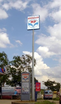 Signage Mast