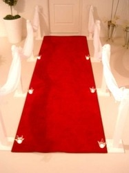 Red Carpets  We are highly engaged in offering an exclusive assortment of Red Carpets in the nation.  Features:  Long lasting Easy to use Superb design Lightweight Attractive pattern Call for more information :9871198973