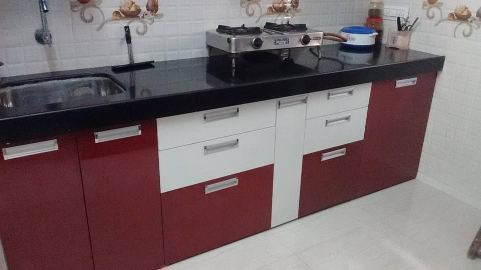 plywood laminate 4seb modular kitchen