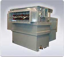 Earthing Transformer has zig-zag (interstar) winding to achieve the required zero phase impedance. In addition an auxiliary winding can also be provided to meet the requirement of auxiliary power supply.