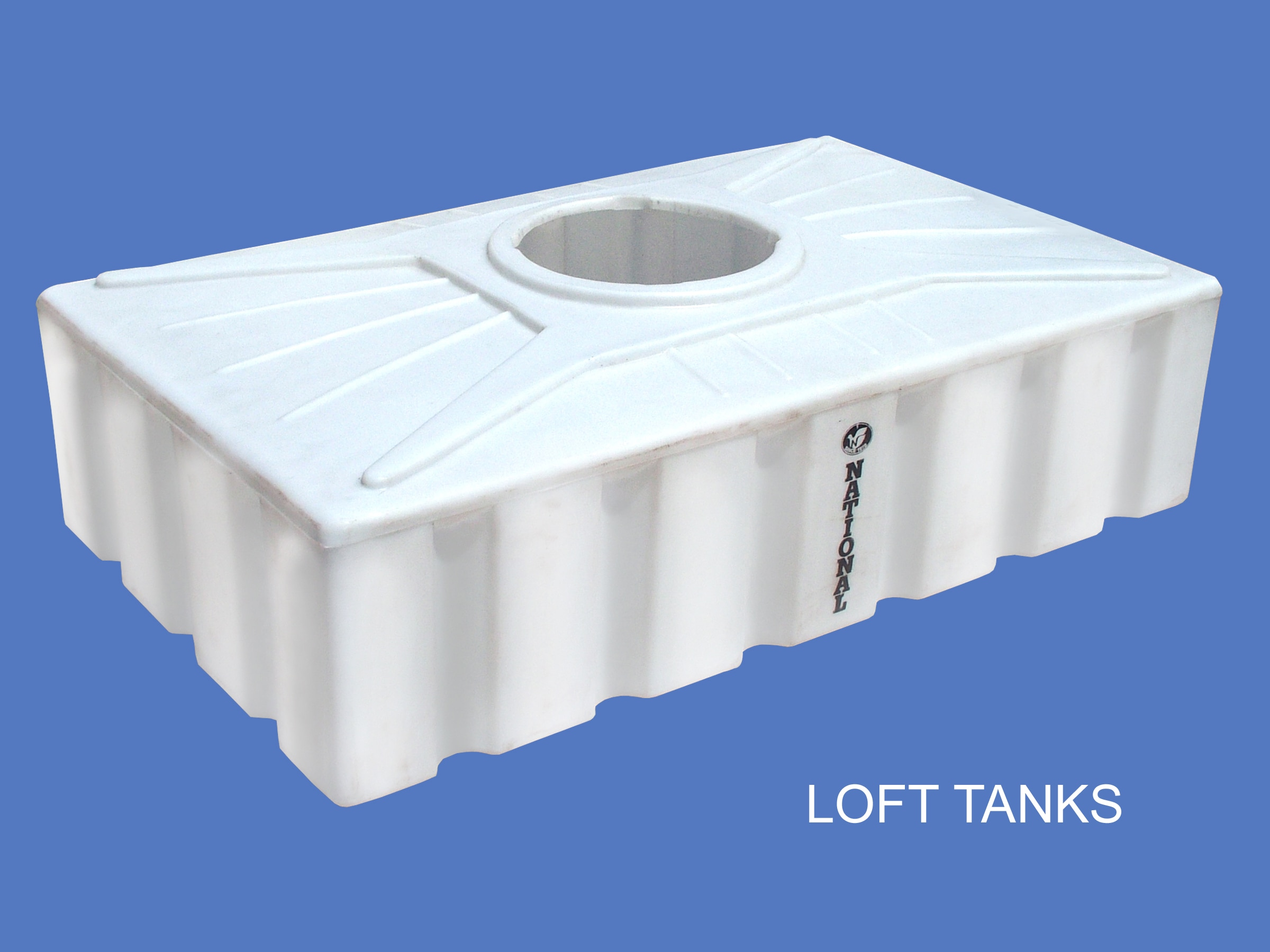 We are Leading Manufacturer of Loft Tanks in Ahmedabad, Gujarat, India These offered plastic tanks are obtainable in cylindrical, vertical, horizontal, round, hexagonal and rectangular shapes and 100 liter to 1000 liter capacity as per the application need.    For More Details Contact Us +91 9913757759  +91 9825010651