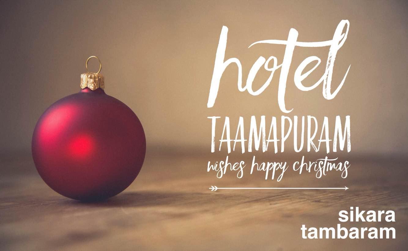 Best Hotel in Tambaram, Sikara Serviced Apartment, tambaram Chennai. Wishes a happy Christmas to all our clients.  Hotel in Tambaram  Restaurant in Tambaram  Hall in Tambaram