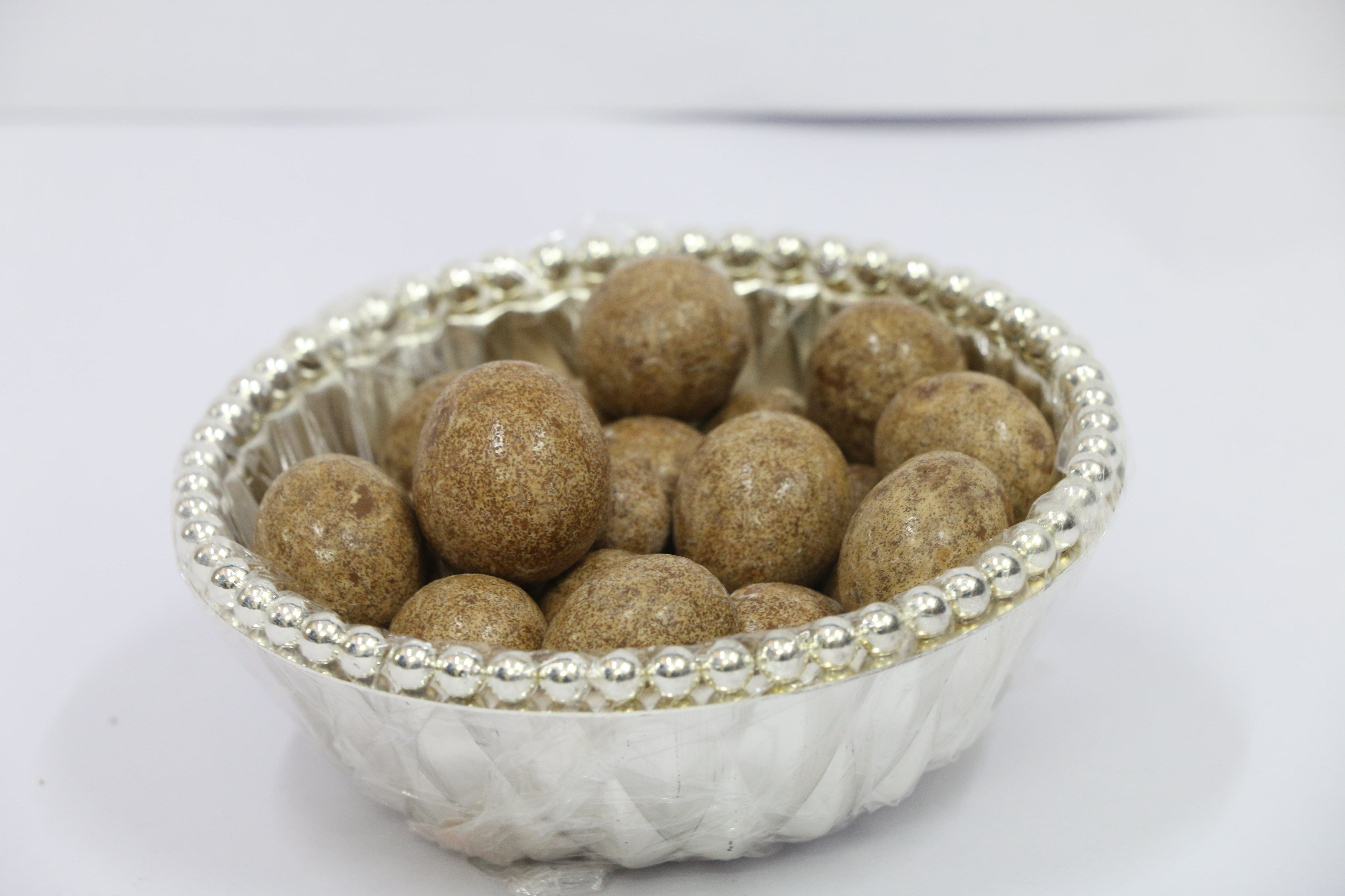 German Silver Plated and Imported bowl in Bangalore Sambhav Products  We also import products as well as export.  German silver plated bowls gives an elegant look.  Shape : Round Metal : German Silver Plated  Quality : Superior Quality  Long Lasting Period : 10 Years.
