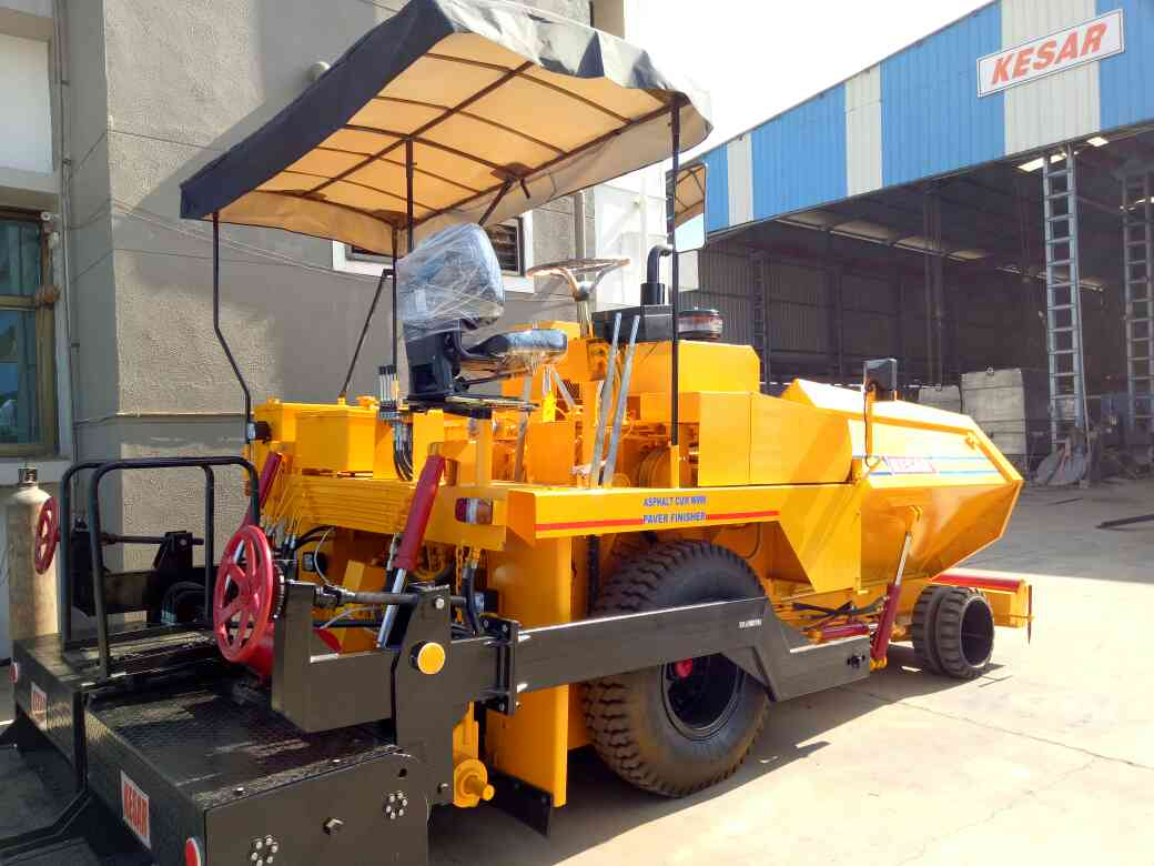 kesar road equipments asphalt equipment manufacturer in India  asphalt Paver finisher manufacturer in India. super and quality Paver to pave the smooth road in India. all type of road equipments machinery available at kesar road equipments  www.kesarequipments.com