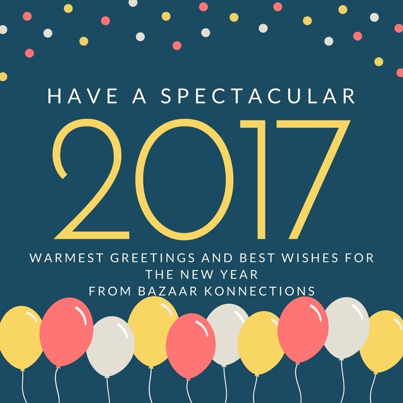 Manufacturer & Exporter Hi Fashion Leather , Fabric handbags and, Small Leather Goods   Warmest Greetings and Best Wishes for the New Year  Bazaar Konnections Family