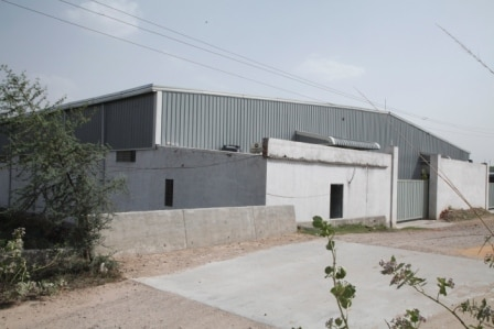 Industrial shed building. Manufacturer and supplier of color coated sheets, decking sheet, downtake pipe, purlins, tile roof sheet, gutter, PEB building, Pre fabricated shed, JSW, TATA Bluescope, Coloron plus, Indian Steel,