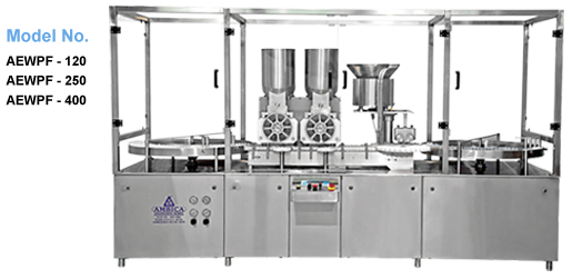 Ambica Engineering Works is the Manufacturer and Exporter of Powder Filling Machine from Ahmedabad. These High Speed inject able Powder Filling Machine with Rubber stoppering have the high working efficiency and requires low maintenance cost.  #powder-filling-machine-Ahmedabad  #powder-filling-machine-manufacturer
