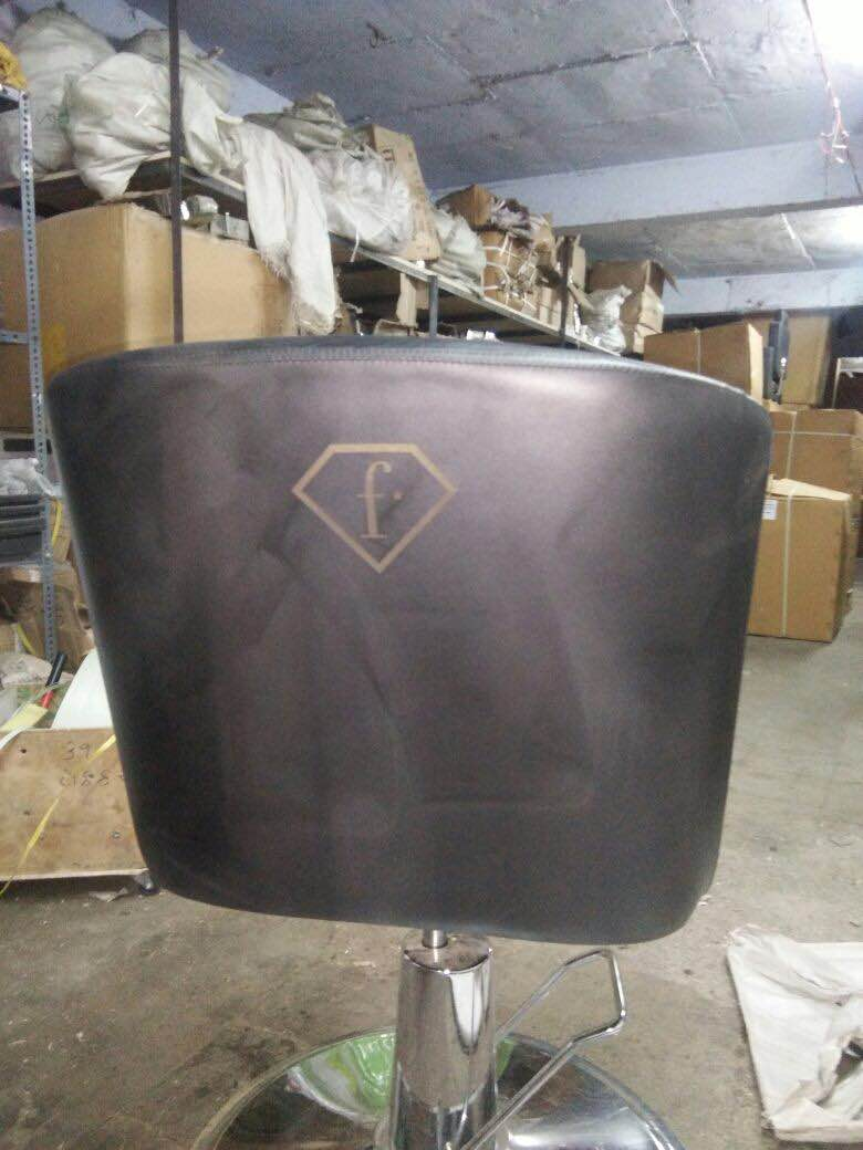 Now give your brand logo to your salon chair with RBC  WE WILL MAKE IT FOR YOU  PLEASE CONTACT US  8866898999 www.ramdevbeauty.in www.salonchairs.in