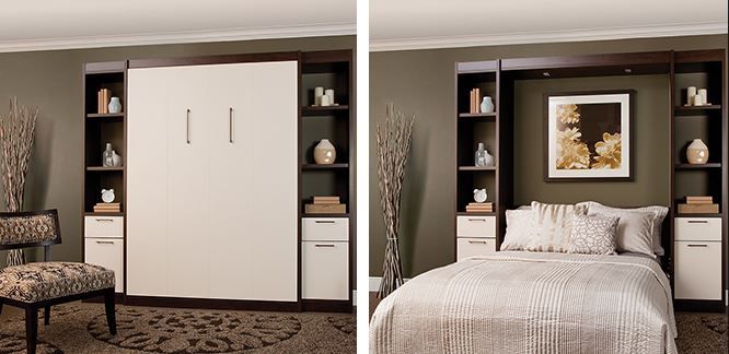decormyplace.com offeres Murphy or wall beds  for space-saving purposes and are popular where floor space is limited, such as small homes, apartments, hotels, mobile homes and college dormitories. These are fitted with heavy duty hardware which will easily last for many years to come. decormyplace.com is one stop solution provider for complete interior designing, modern modular kitchens and cabinets, the contemporary customized furniture, teak wood furniture, living room furniture, customized furniture, kids room designer furniture, bedroom designs and furniture sets, designer tv Units and many more interior products.