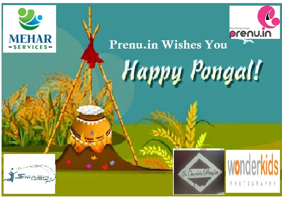 Dear All!!  India celebrates its bounty of harvest with community festivals, happy #pongal #lohri #Makarsankranti. Time for GAJAK, REWARI and BONFIRE!!!   May happiness overflow on the auspicious occasion of Pongal, good luck enter your home and success touch your feet. Wishing you a Very Happy Pongal.   Warm Regards,   Prenu.In                Touching Lives Prenu.In - Bangalore, Chennai, Pune, Calicut, Coimbatore and Mumbai - 8884750101/ 8884300689/ 9535514414, info@prenu.in, www.prenu.in