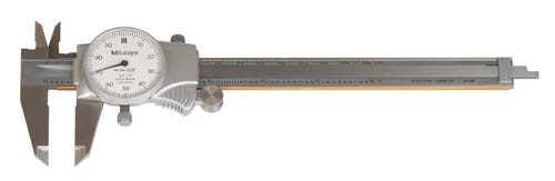 We aim to provide high quality Dial Calipers - series 505 to our customers at affordable prices. Designed with superior grade stainless steel, these Calipers are titanium coated and are offered with rack-and-pinion dial mechanism for improved 4-way measurement of instruments. Our company conducts quality checks for these Calipers on various stages to match the quality standards of international market.
