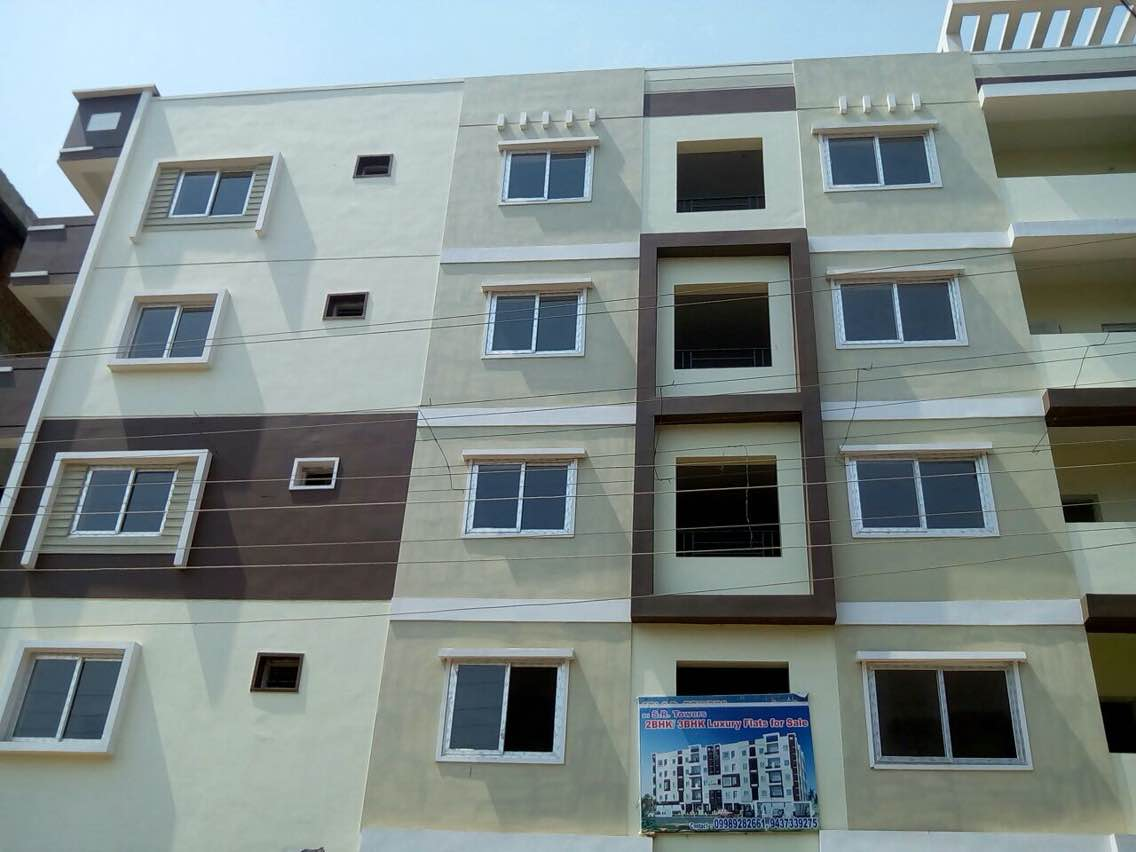 Building elevation with Upvc Windows