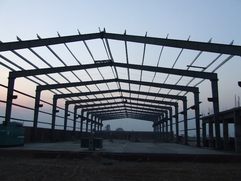Pre engineering building. In house production of sheets, purlins, cold structure, other industrial shed items. We do complete turnkey projects including all civil work (f required).
