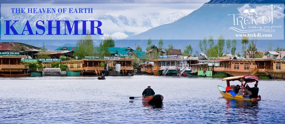 Jammu and Kashmir – The Heaven Of Earth  Jammu and Kashmir is situated in the northern most part of the India. Kashmir provides a series of a little inferior rigorous adventure sports, such as Water Skiing, on Srinagar's Dal and Nagin Lakes, a popular in the valley. Water trekking is considered to enjoyment anyone wanting to explore the valley in a boat. A Gondala, commonly known as Shikara, takes tourists along a five-day way along rivers and lakes located within the valley. In Kashmir trout fishing is additional water sport and fishing period in the summer. Ladakh provides very large chances for undertaking adventure process amidst landscapes of breathtaking, coarsed beauty. The main famous and best usual among these are trekking , mountaineering and river-rafting .