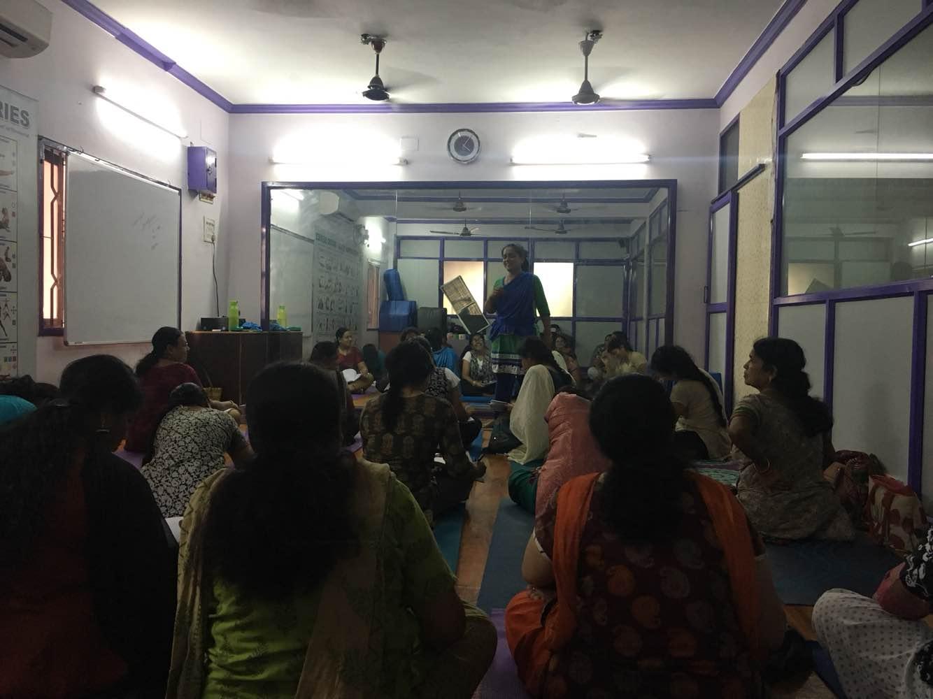 Diploma in yoga teacher education classes