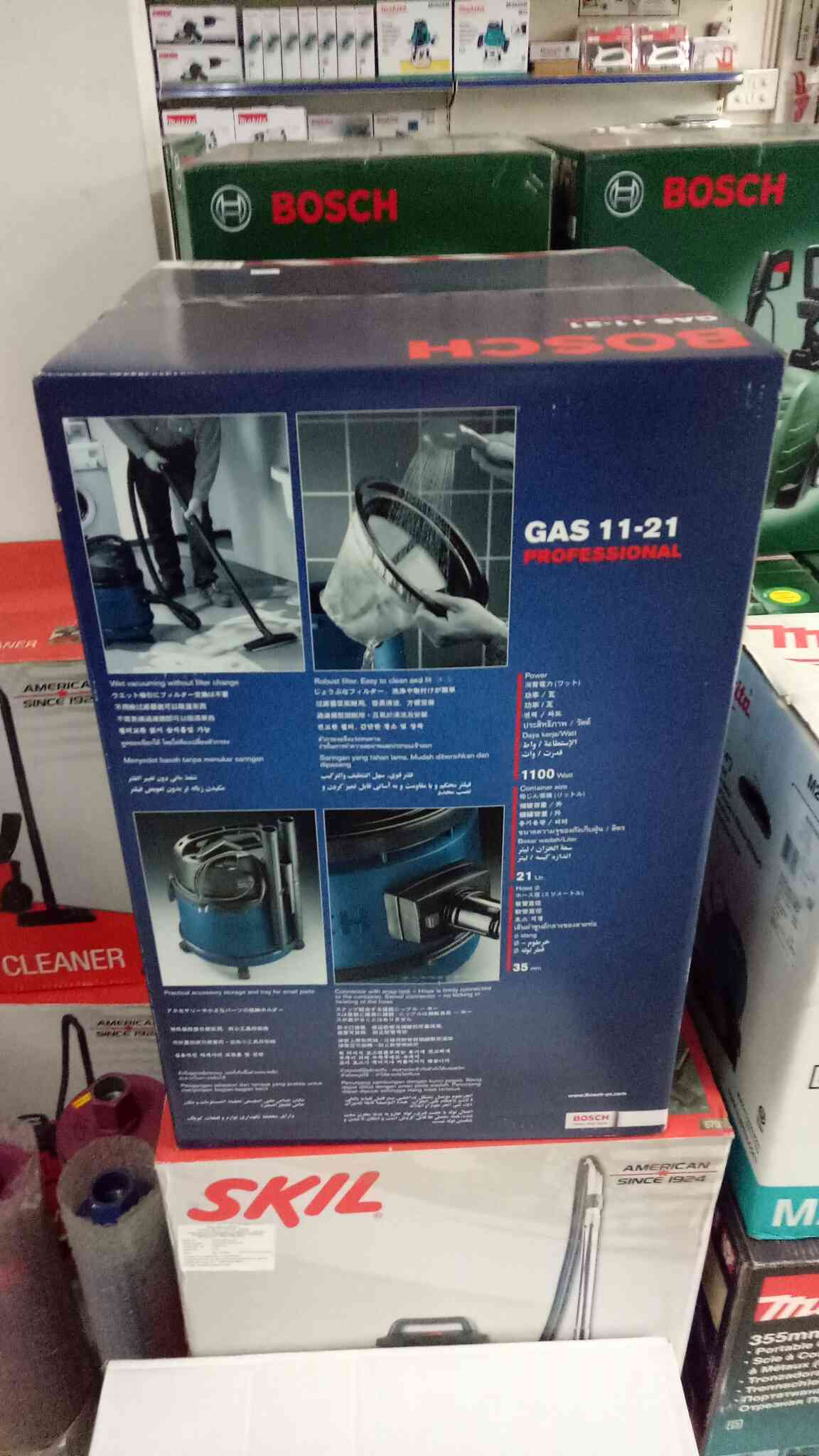 BOSCH vacuum cleaners