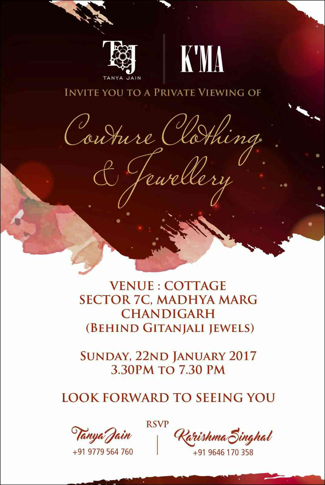 luxury invitation designing and printing