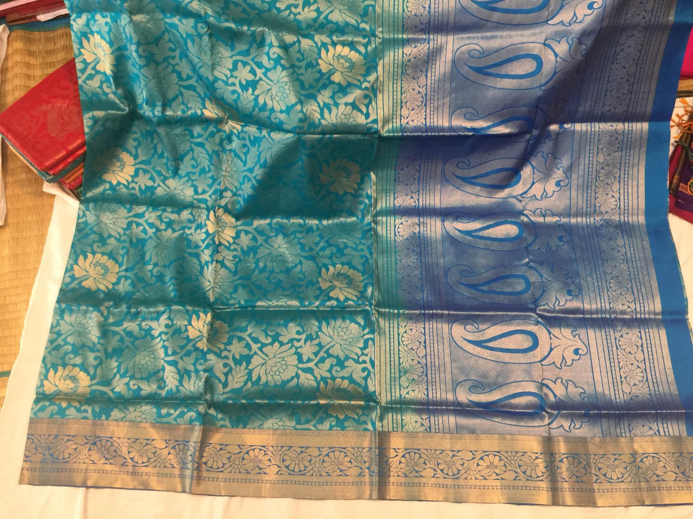 Kancheepuram pure soft silk saree