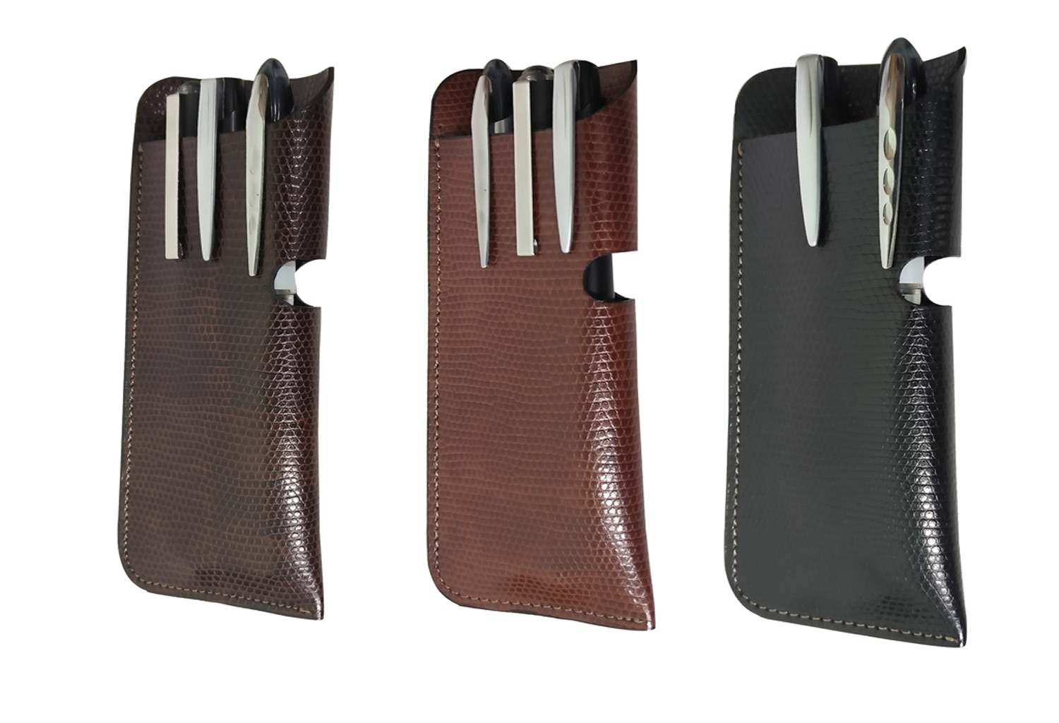 Essart Pen Holder-Combo PNC-04-Brown.Tan, Black   Essart Pen Holder-Combo PNC-04-Brown.Tan, Black Store in Delhi-Ncr.   Essart PU Leather pen case holders (3 in one). BuyNow http://retailwal.net/products/679-essart-pen-holder-combo-pnc-04-browntanblack.aspx#.WI84R1V97Z4