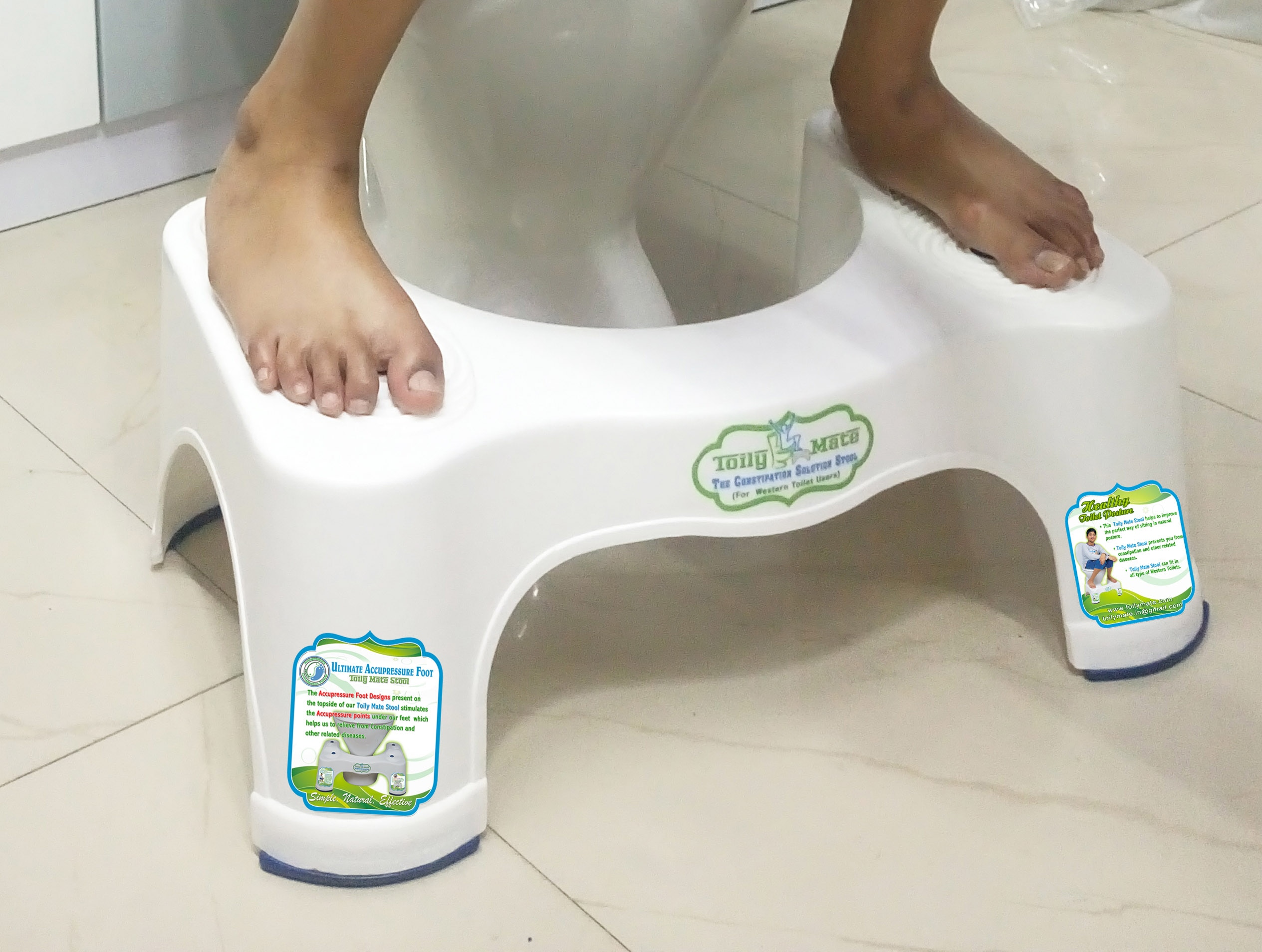 Toilet Stool for Easy Motion  Toily Mate Toilet stool is used to eliminate the waste quickly, easily and completely.It is highly helpful to relieve from Constipation and other related Diseases.  For more details:... http://www.erventure.com/toilet-stool.html  Ph : 9840121517, 9841555111