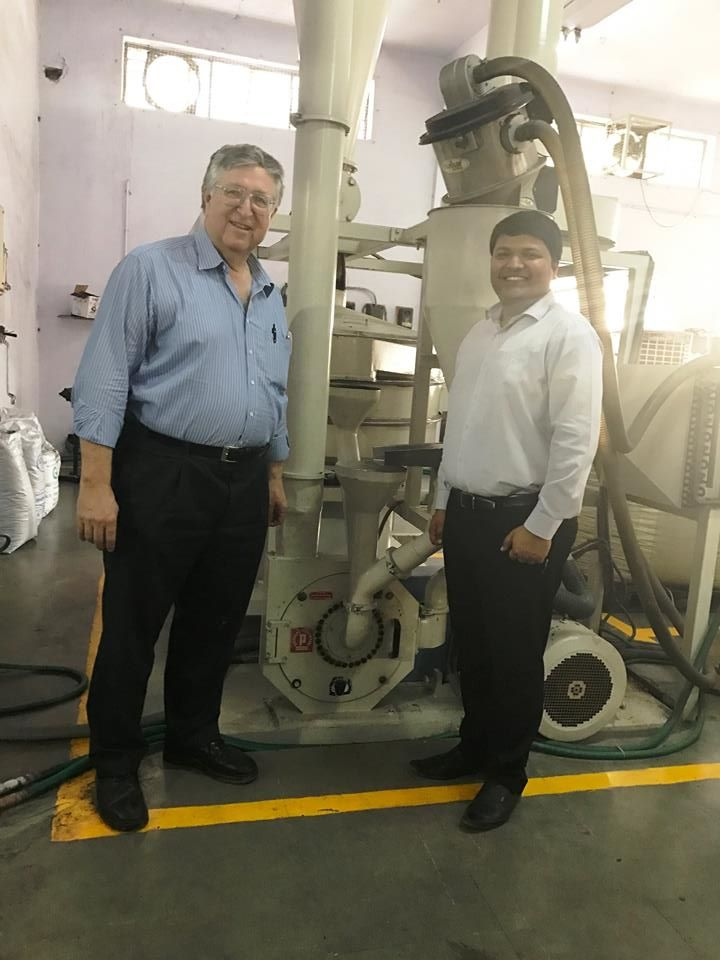 Mr. Pallmann Visited our operations last week. Had a healthy discussion & knowledge sharing on Size reduction Technology & how it can help in developing better Rotomoulding powder...
