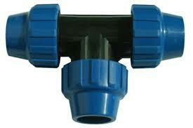 compression fittings tee size ranges 20mm to 110mm