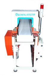 Packaging Metal Detector:   Features: Specialties Of Metal Detector For Metalic Packaging Customized (Tailor made) aperture sizes are available Very high sensitivity According to HACCP, GMP and FDA standard Audio and visual indication on metal detection Product effect compensation Different models are available according to application Model-FMD (Ferrous Metal Detection)—Detects Ferrous metal in metallised (Aluminium) film packaging Automatic balancing Dual channel operations