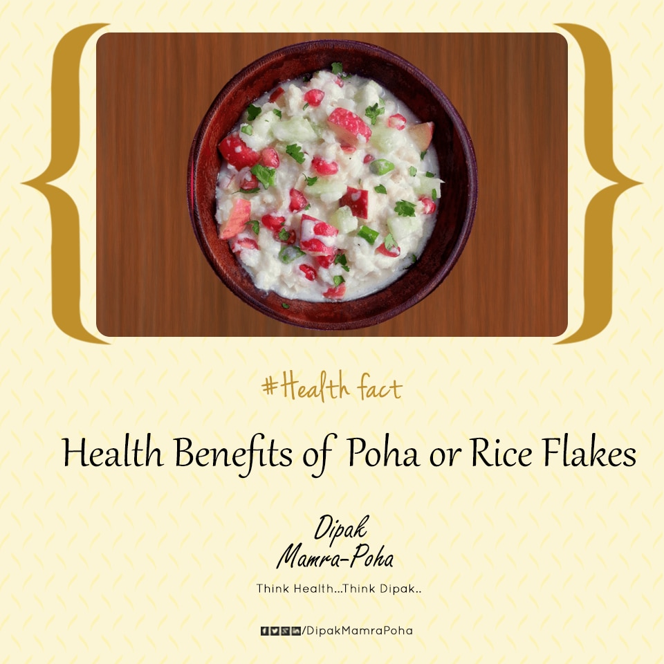 Health Benefits of Poha or Rice Flakes