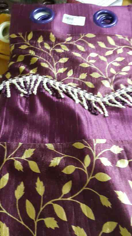 Ready made curtains for Doors, Windows available in beauty full Colours.