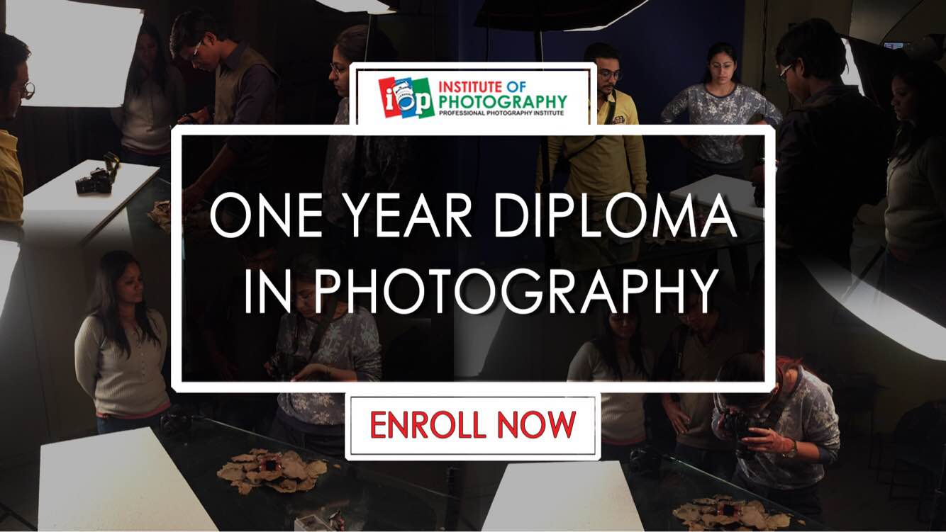 Admissions opens for one year Diploma In Photography. If You wants to b Professional photographer Join Institute of Photography.  https://www.instituteofphotography.in/  Institute of Photography- Professional Photography Diploma in Delhi