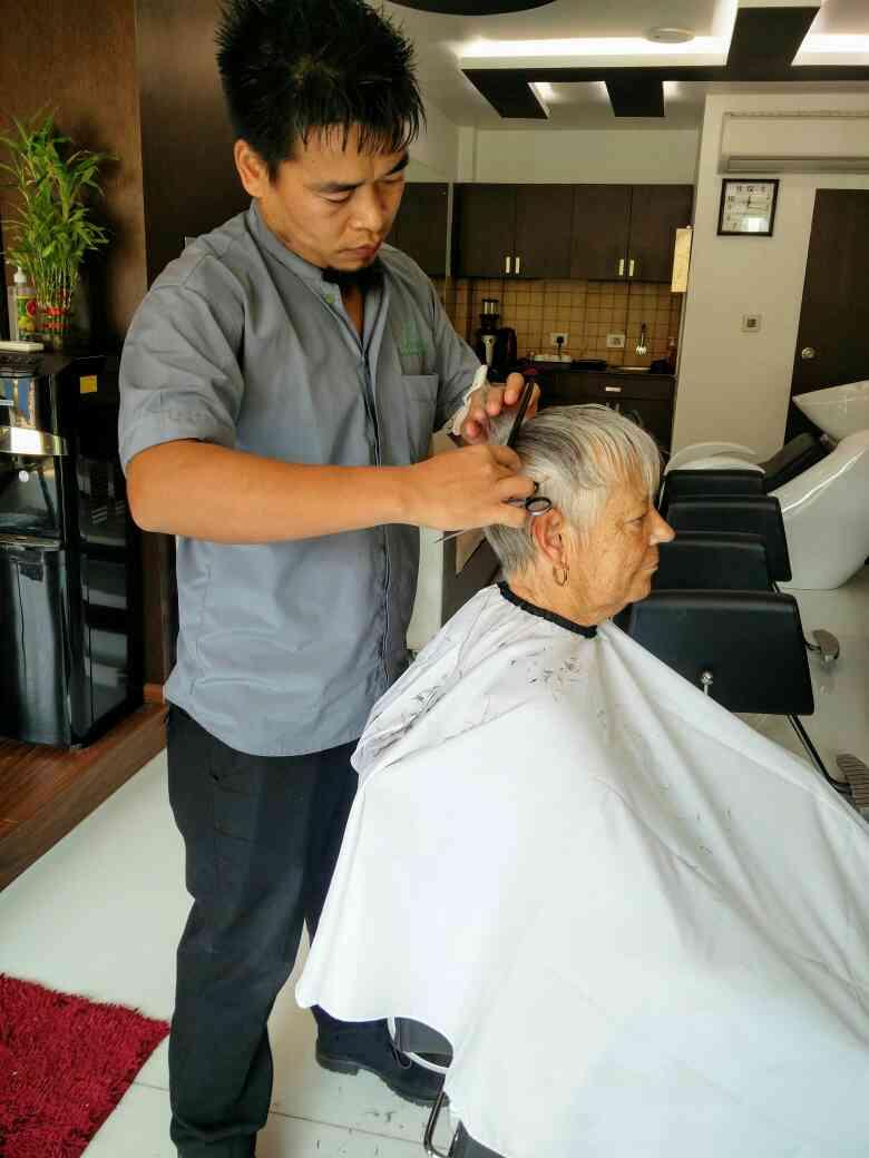Best haircut by team