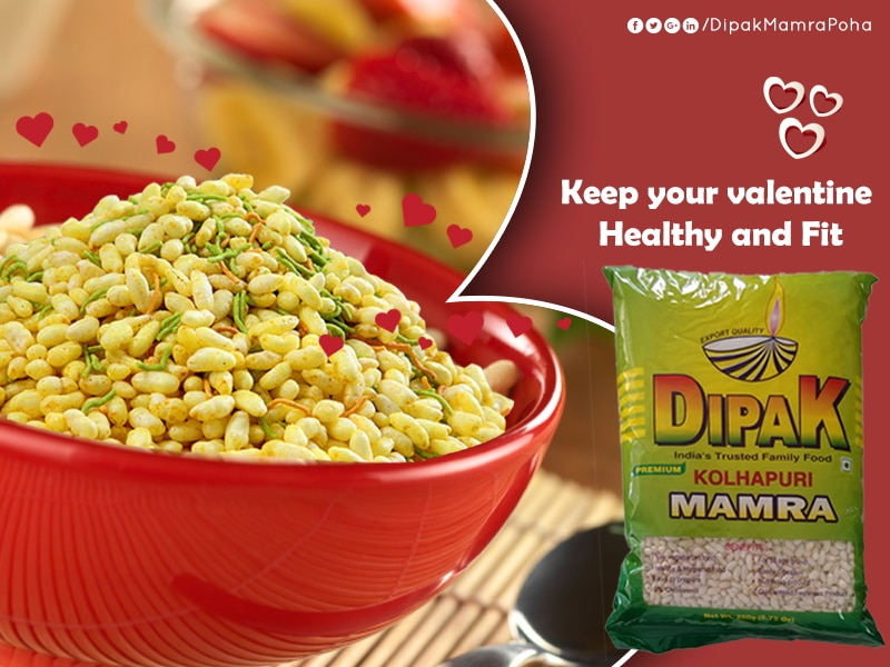 Treats Of Love From Dipak Foods!  When Valentines' Day is knocking at the door, plan to gift the loved person of your life with healthy packaged foods like poha, dates, Mumra, peanuts, chana and everything at top notch quality at affordable prices from Dipak Foods. It is for sure that this gift hamper with healthy and tasty ingredients would charm the receiver on this 'love' day.   #Happy-Valentine-day #Khar-Basmati-Manufacturer-In-Ahmedabad  #Basmati-Mumra-Manufacturer-In-Ahmedabad  #Kolhapuri-Mumra-Manufacturer-In-Ahmedabad  #Dehradun-Basmati-Poha-Manufacturer-In-Ahmedabad  #Alu-Poha-Manufacturer-In-Ahmedabad  W:http://www.dipakfoods.com/   M:9924246677