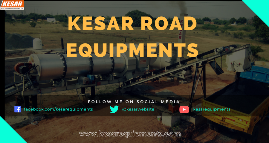 Kesar Road Equipments Exporter And Manufacturer Of Asphalt Hot Mix Type Drum Mix Plant In Mehsana, Gujarat, India.   Our Road Construction Equipments   Asphalt Hot Mix type Drum Mix Plant  Bitumen Pressure Distributors(BPD)  Bitumen Emulsion Sprayer  Bitumen Decenter(Asphalt Melter)  Asphalt BatchMix Plant  Wet Mix Macadam Plant(WMM)  Asphalt Mobile Hot Mix Plant(MDM)  Hydraulic Broomer(Road Sweeper)  Asphalt Paver Finisher(Paving Machine)   And Know More About Price Of Road Construction Machinery Then Contact Us Mr.Dipak Chaudhary :- 9825322472 www.kesarequipments.com