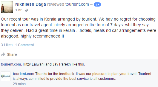 Check what our customers are saying about us!