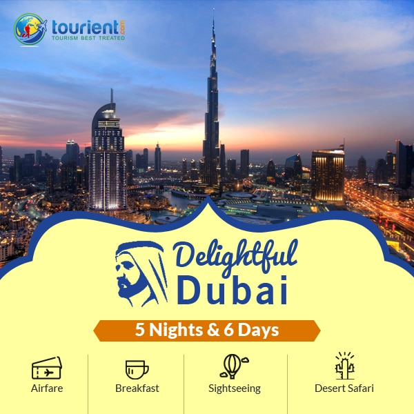 Take a trip to the most happening city of the world - Dubai. We have the best Tour Package for Dubai which can be customised as per your need and comfort. We are experts in providing customized Holiday Package at the best price for any destinations. The best services guaranteed!  Contact us now!  http://signup.tourient.com/tourient-international-packages/