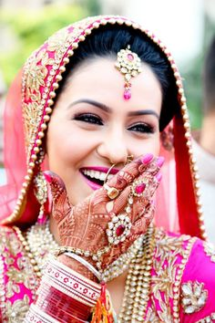 BRIDAL DENTISTRY  Besides the make-up, clothes & jewellery there is one thing that everyone will notice on this special day-- it's the Bride's Smile.It is trendy to get candid pictures, Bollywood style videos so the need to have a whiter, brighter smile is the need of the hour. A great smile can help her feel more confident and complements the results of a good makeup.  Achieving a Bridal-White Smile  1) Professional cleaning  2) Whitening  3) Bonding  4) Enamel shaping/ Enameloplasty  5) Tooth jewellery  6) Gum Surgery  7) Orthodontic treatment without braces