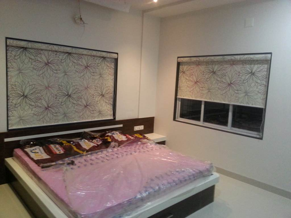 We are manufacturing all type of roller blinds  As like  Blackout  Transclusan  Printed  Foam backing  Jute