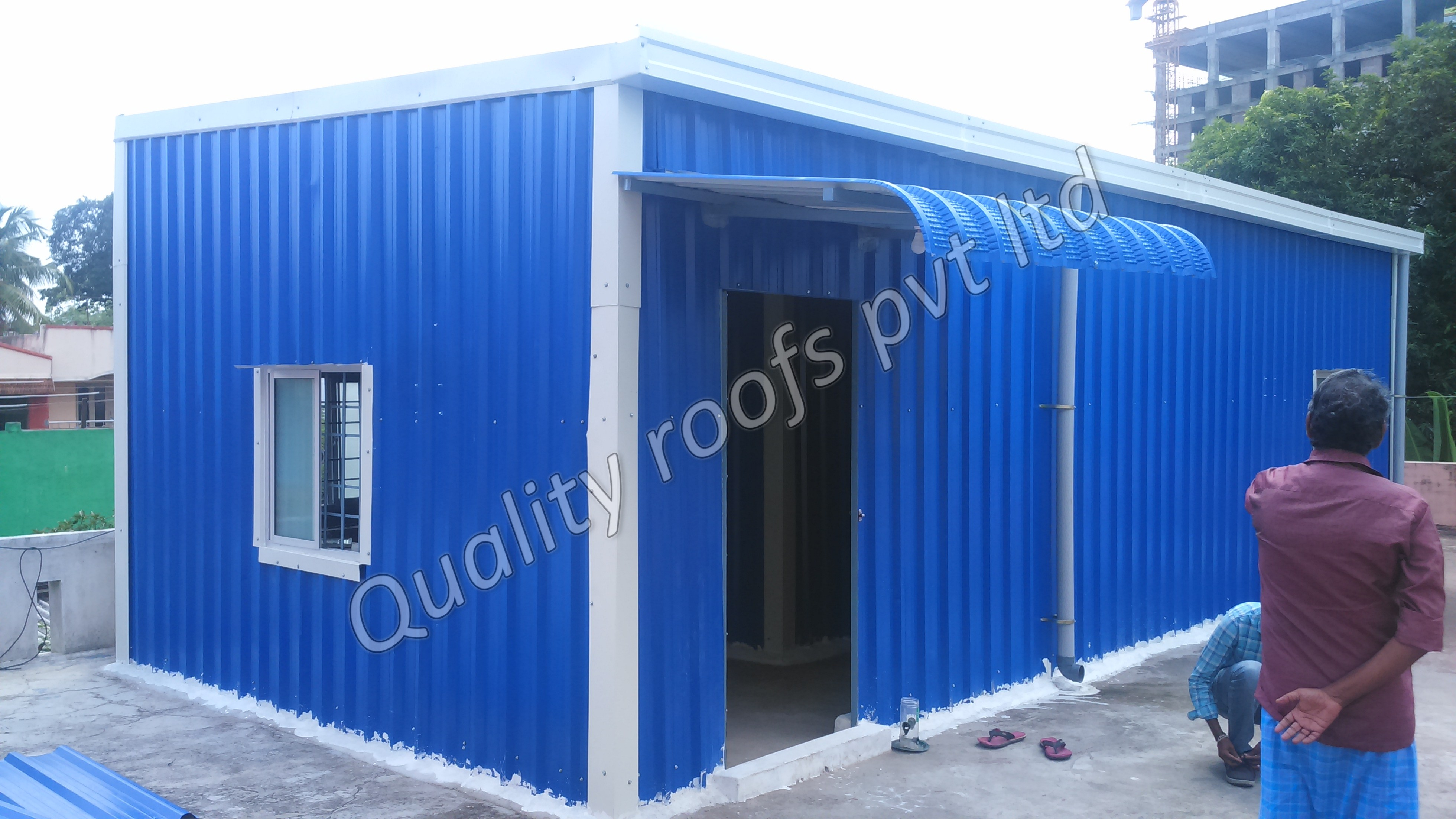 Cool Roofing Chennai                We are offering Cool Roofing Sheds In Chennai. Terrace Roofing In Chennai.The roofing sheds offered by us are manufactured from the quality approved material under the observation of skilled professionals. These roofing sheds are demanded in the industry due to their excellent finish & least maintenance. We are offering these roofing sheds in different sizes at competitive price. cost effective and environmentally friendly. thus keeping interiors cool during hot summer months Less thermal impact on roof surface Flexibility to withstand dynamic motions Greater efficiency from existing air-conditioning plant through reduced peak loads Significant abatement of Greenhouse Gas resulting from the power saved Environmental responsibility.