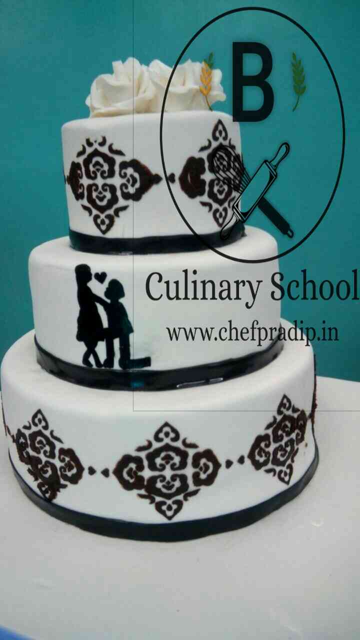 wedding cake by  Manjus the art of cooking for place your  http://chefpradip.in/cake-order/