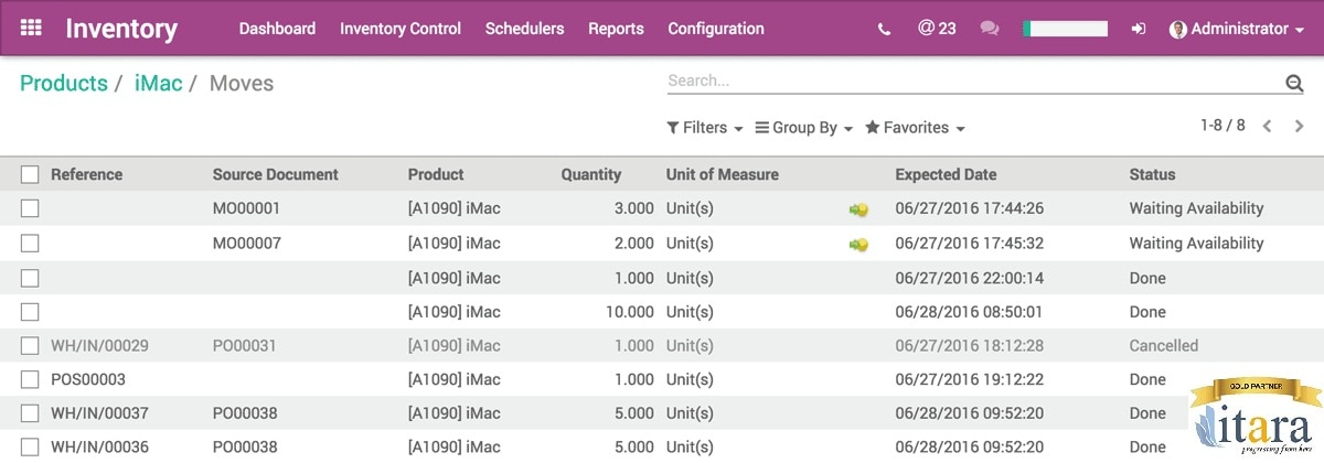 ODoo Point Of Sales