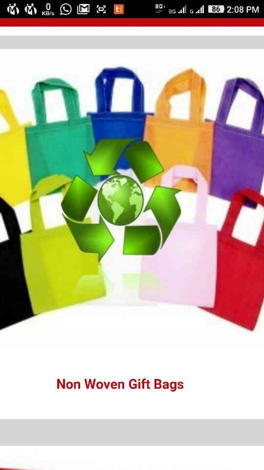 Laxmi bio tech is leading the manufacturer of non woven fabric D cut bag, non woven D cut bag, non woven printing bags, printed non woven bags, non woven U cut bag, non woven carry bag  in Ahmedabad , Gujarat , India. We are supplier in all over India as per clients requirement. For more details  call+91 7383936433 +91 9428688317 (W)