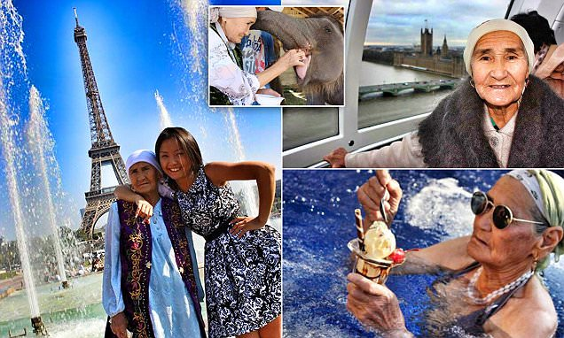 Lena, the 80 year old glbetrotting granny has us inspired. From a person who just couldnt see herself step into a plane to someone who has toured over 12 countries in a year, Granny Lena - you simply rock! If you plan to visit #varanasi, please do stay with us!