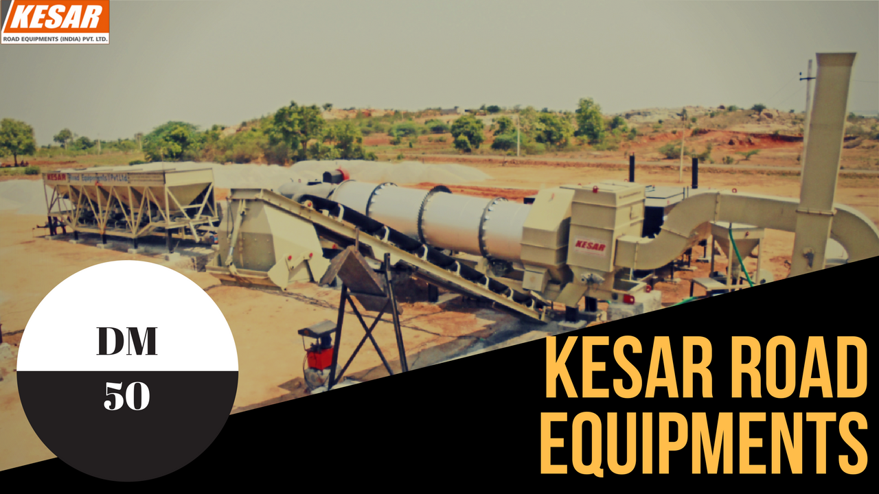 We Are Offering Asphalt Drum Mix Type Hot Mix Plant In Jammu-Kashmir , India  Asphalt Paver Finisher Working At Mehsana, Gujarat, India  Kesar Equipments Is Manufacturer Of Asphalt Road Construction Machinery In Gozaria, Gujarat, India  Contact Us Mr.Dipak Chaudhary:- 98253 22472 www.kesarequipments.com