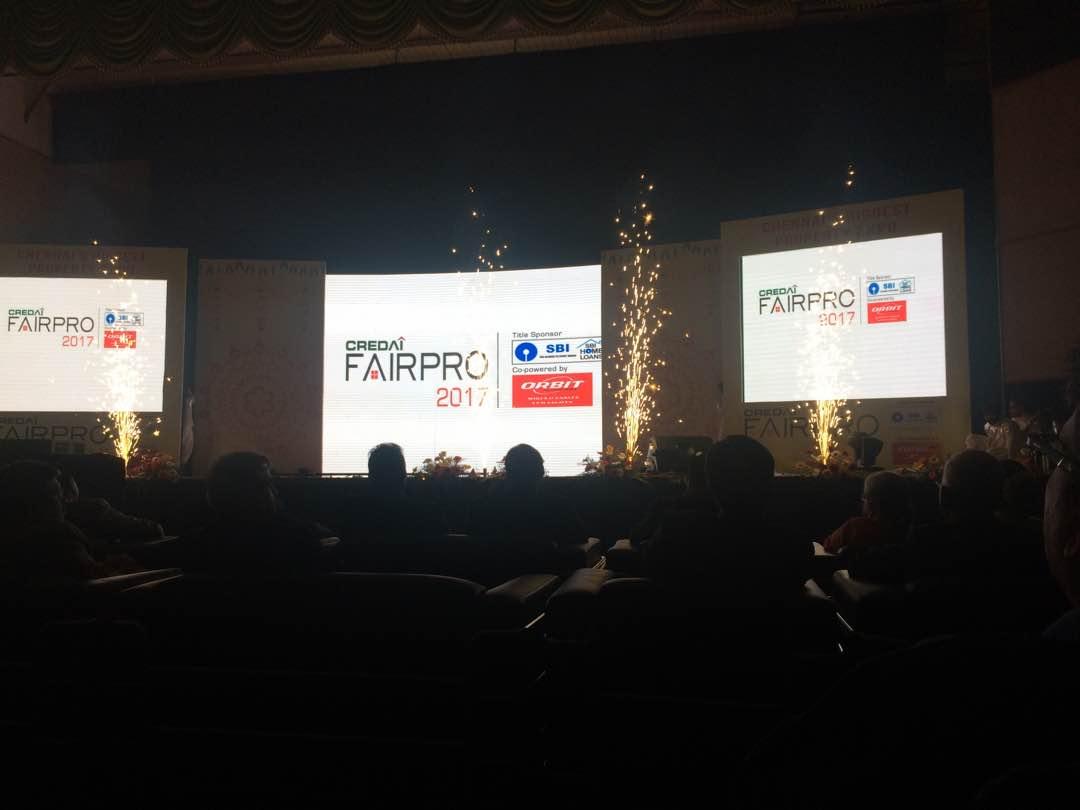 Opening ceremony of Credai fairpro