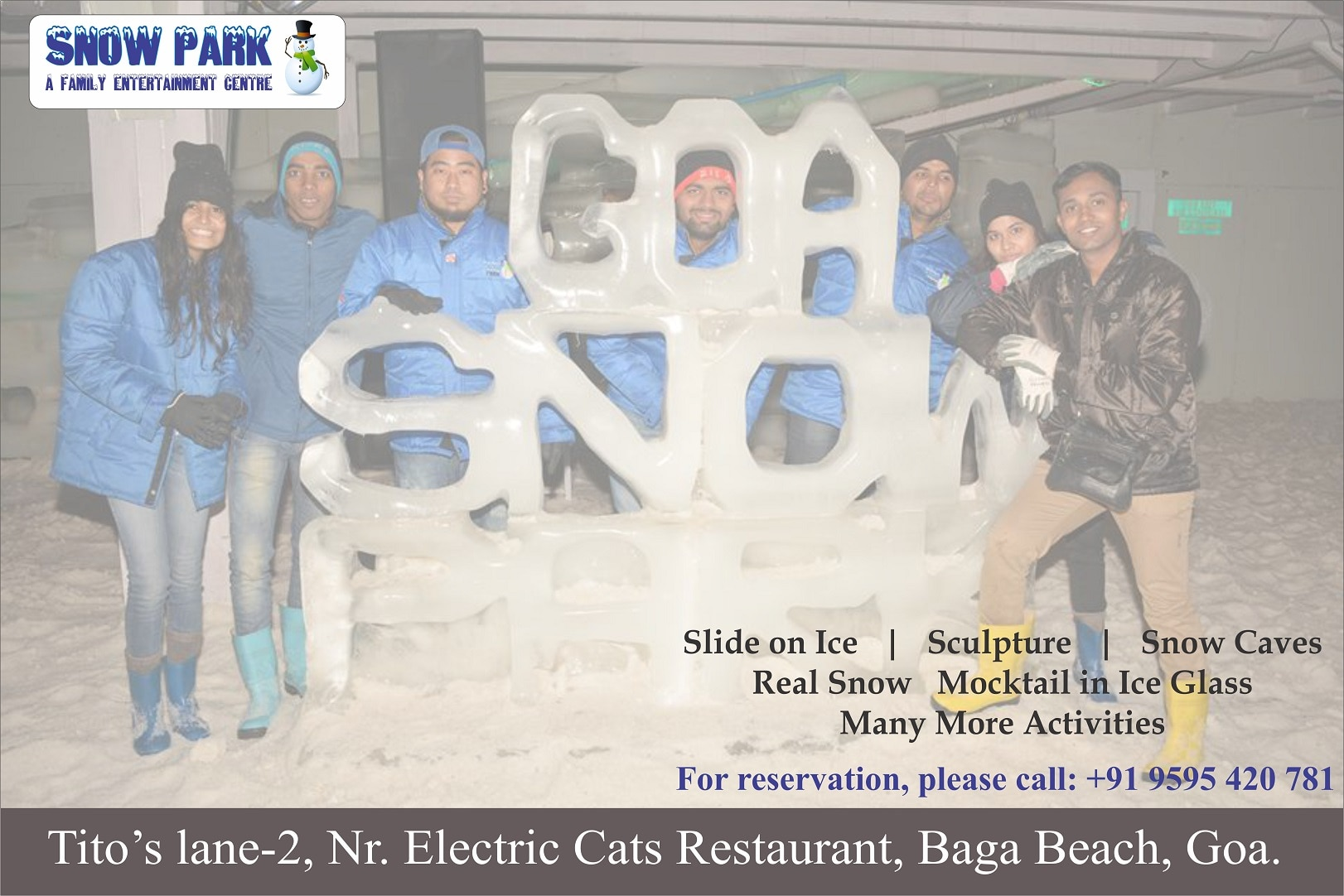#Slideonice #Realsnow #Realfun #Snowparkgoa #goa #beach #Sun #Sand #Sea #Mocktain #Iceglass #Sculpture Fun Never Goes on Strike..   Inquiry :- +91 9595 420 781