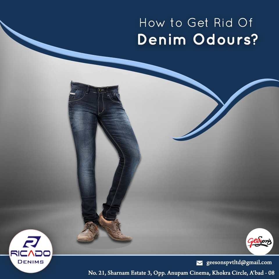 How to Get Rid Of Denim Odours?