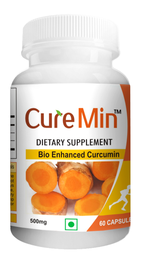 Curemin - Natural Curcumin -  60 Supplement Capsules - Rs.1, 675 Natural Anti-inflammatory Support Formula  Curcumin helps to: Enhance Mobility with its anti-inflammatory properties. Reduce Oxidative Stress on Joint tissues. Enhance blood supply to joints. Anti-oxidant activity. Anti-protozoaland Anti-bacterial activity. Anti-tumor and Anti-cancer activity. Hepatoprotective activity.