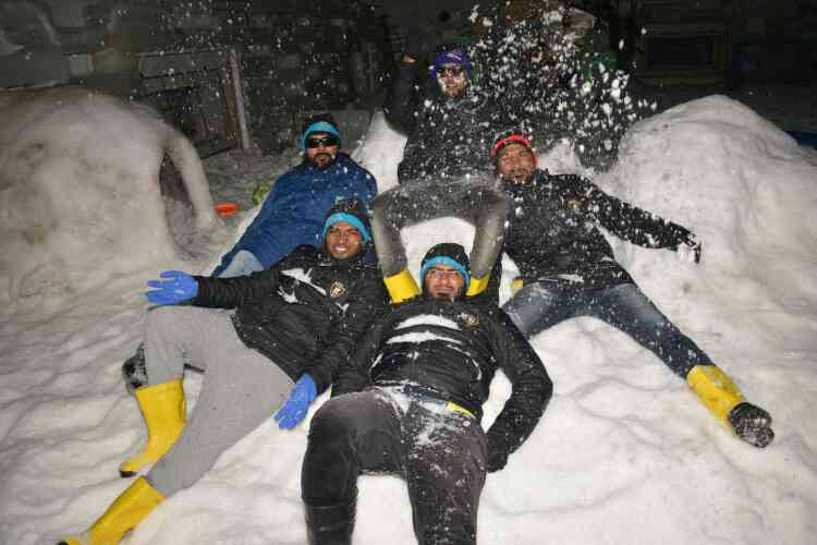 Feel and freez your moment with your besties at SnowParkGoa...  Inquiry +91 9595 420 781