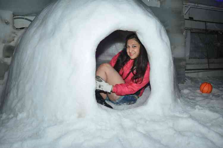 Feel the experience to stay in igloo in Goa at SnowParkGoa..